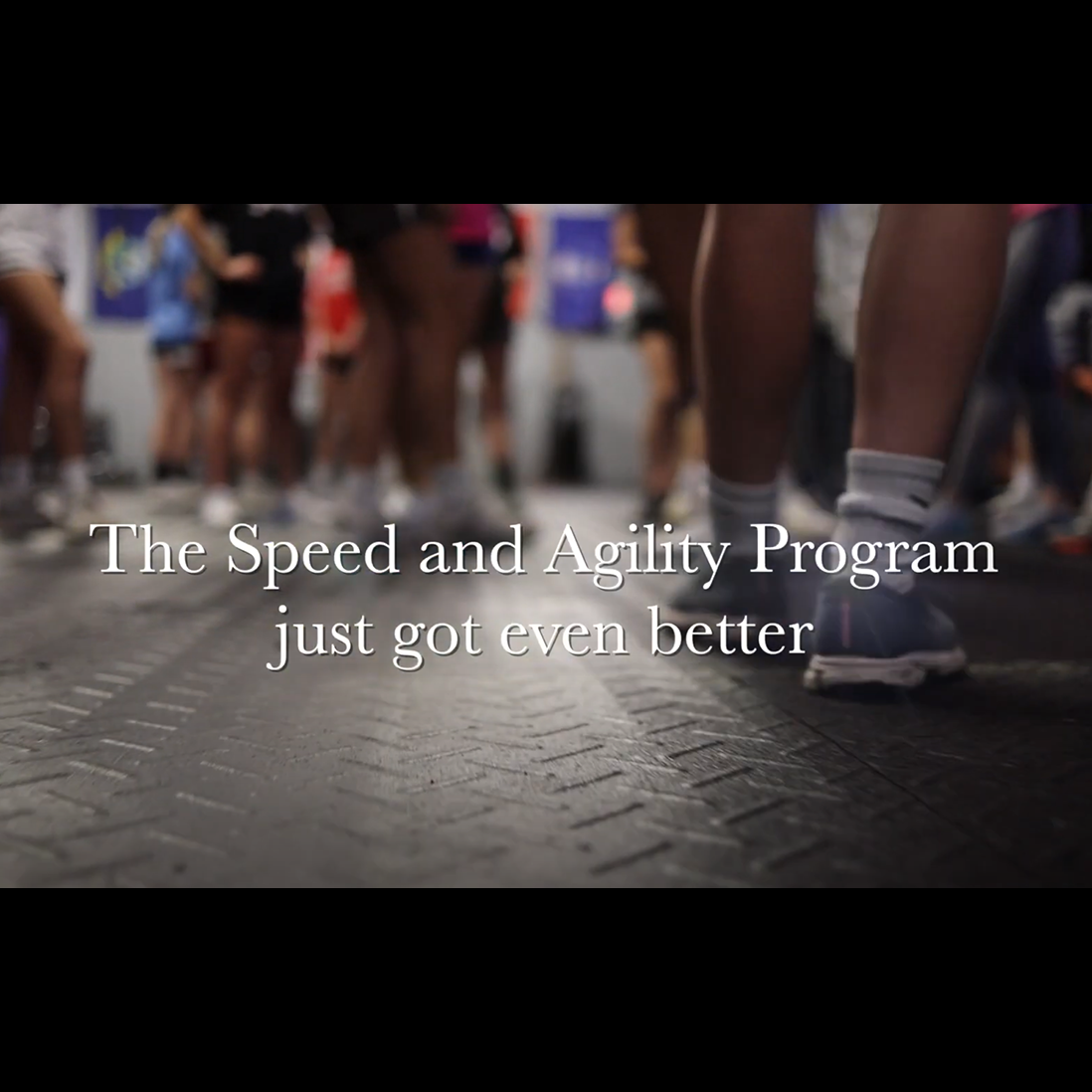 The Speed and Agility Program now has more power!